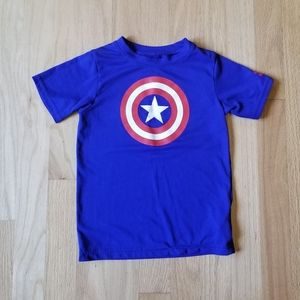 Under armour captain America shirt